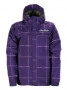 куртка женская Horsefeathers Sagitta Purple Plaid